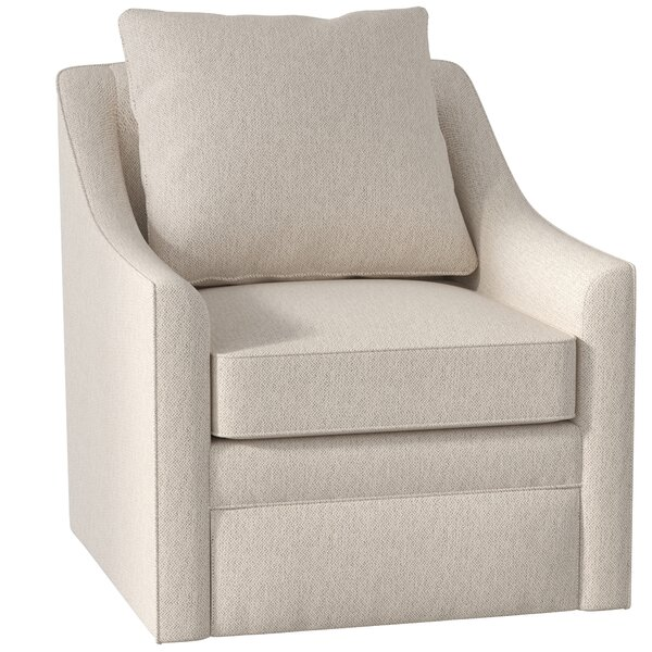 Quincy Swivel Armchair by AllModern Custom Upholstery AllModern Custom Upholstery
