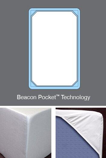 4 Piece 600 Thread Count Cotton Sateen Sheet Set by Beacon Linens