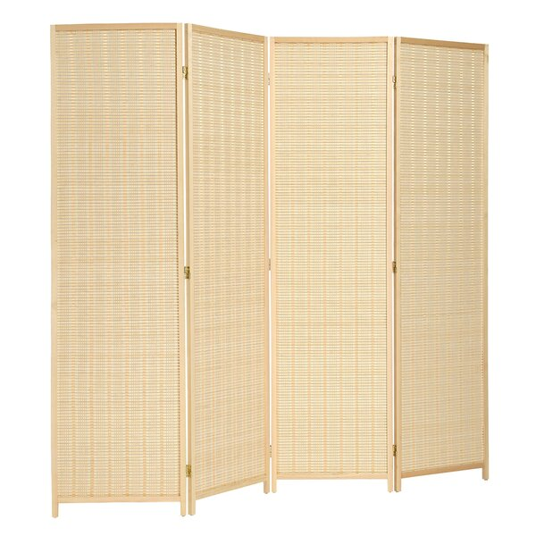 Walls Freestanding Bamboo Room Divider by Bay Isle Home