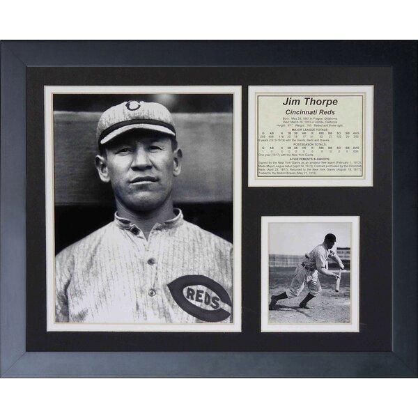 Jim Thorpe Framed Memorabilia by Legends Never Die