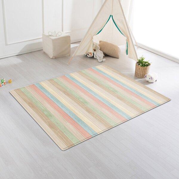 Color Wood/Rising Star Cushion Floor Mat by Parklon