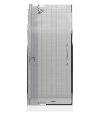 Finial 32.75 x 72.25 Pivot Shower Door by Kohler