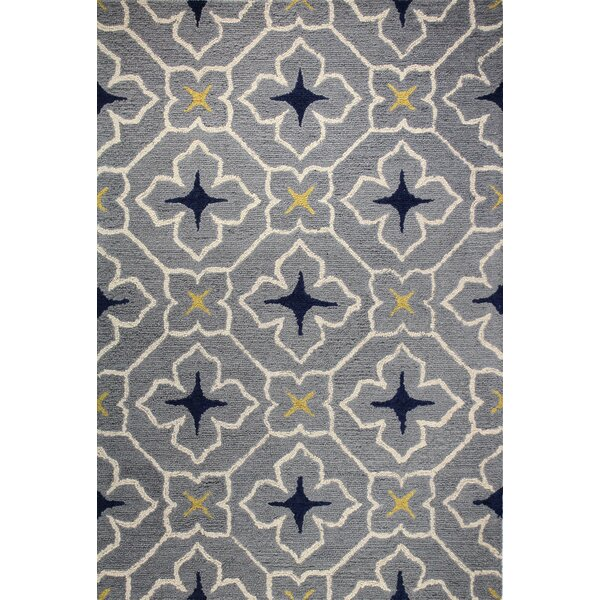 Rajapur Grey Area Rug by Bashian Rugs