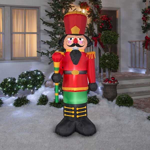 Nutcracker Inflatable by The Holiday Aisle