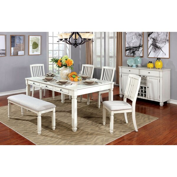 Bettye 6 Piece Dining Set by One Allium Way One Allium Way
