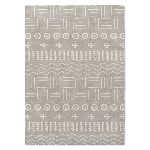 Global Gray Area Rug by Foundry Select
