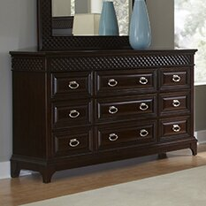 Sonoma 9 Drawer Standard Dresser by Najarian Furniture