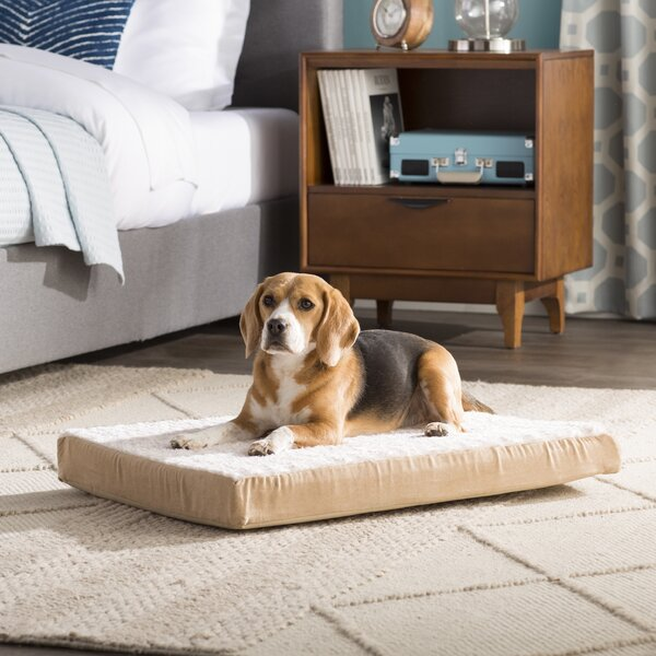 Ernie Ultra Plush Deluxe Memory Foam Dog Mat by Ar