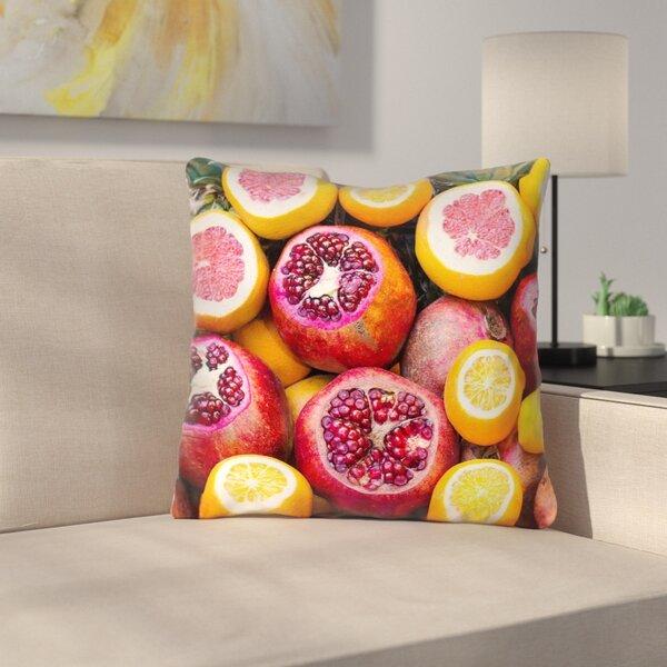 Fruits Indoor/Outdoor Throw Pillow