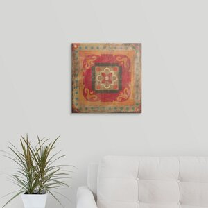 Moroccan Tiles XII by Cleonique Hilsaca Graphic Art on Wrapped Canvas by Great Big Canvas