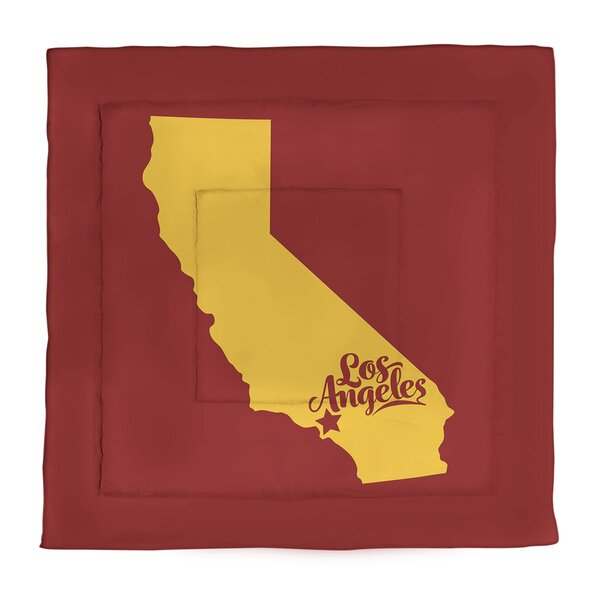 Los Angeles Single Reversible Comforter
