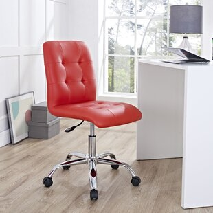 Cherry Wood Desk Chair | Wayfair