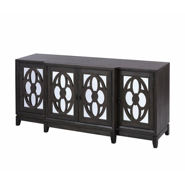 Nikhel 4 Door Sideboard By World Menagerie