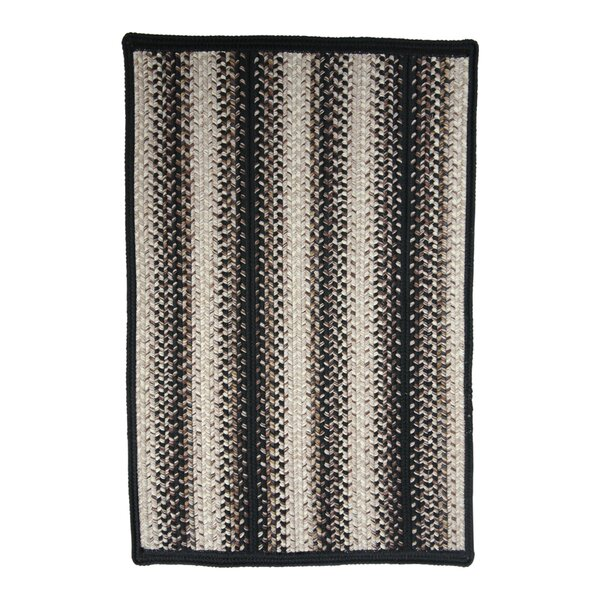 Onyx Black Indoor/Outdoor Rug by Homespice Decor