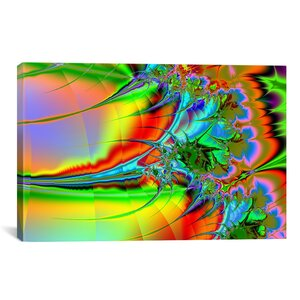 Warrior Graphic Art on Wrapped Canvas by iCanvas
