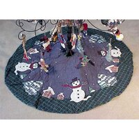 Patch Magic Snowman Tree Skirt by The Holiday Aisl