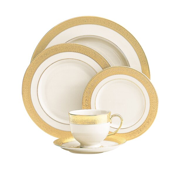 Westchester 5 Piece Fine Bone China Place Setting by Lenox