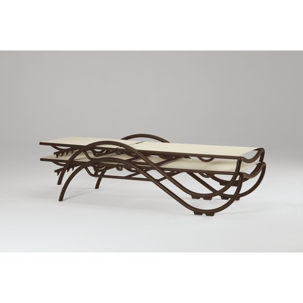 La Scala Reclining Chaise Lounge by Tropitone