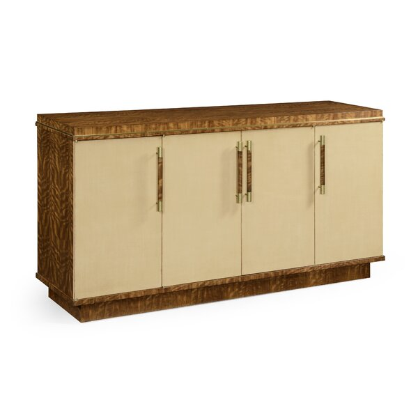 Buffet Table with Drawers by Jonathan Charles Fine Furniture Jonathan Charles Fine Furniture