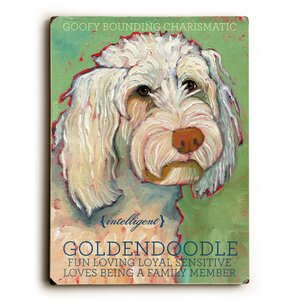 Goldendoodle Graphic Art by Artehouse LLC