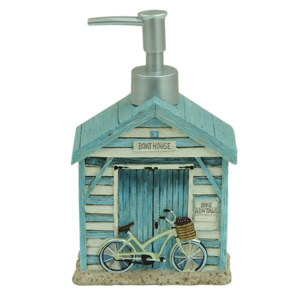 Beach Cruiser Soap Dispenser by Bacova Guild