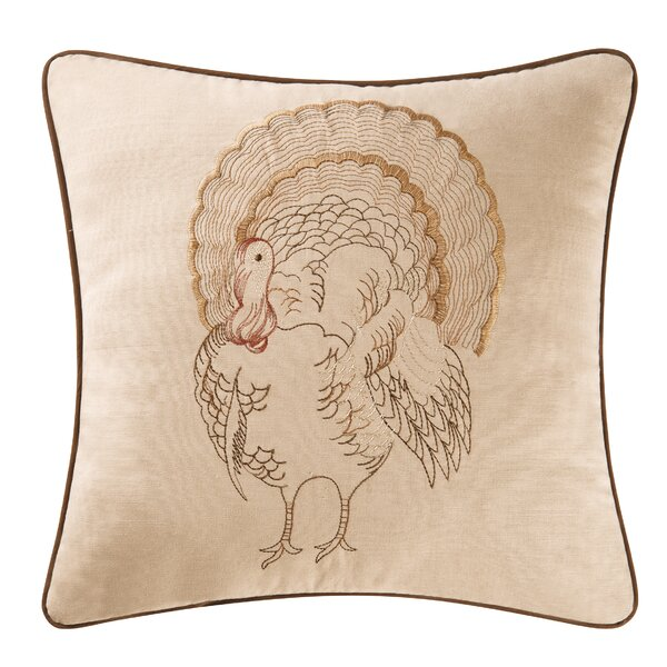 Conn Gobble Gobble Cotton Throw Pillow by The Holiday Aisle