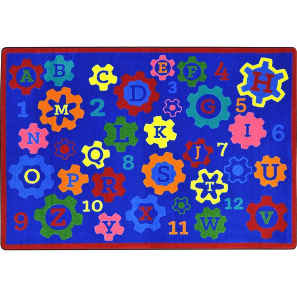 Kid Essentials Blue Indoor/Outdoor Area Rug by Joy Carpets