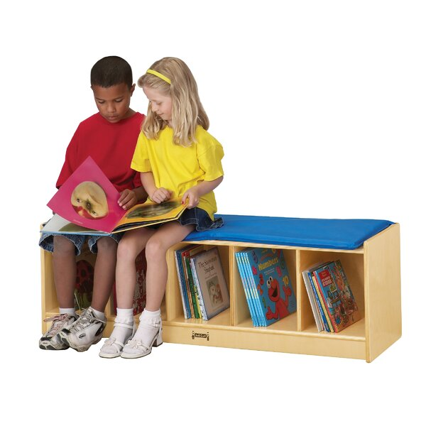 5 Section Locker Storage Bench by Jonti-Craft