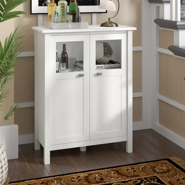 Perreira Bar with Wine Storage by Andover Mills Andover Mills