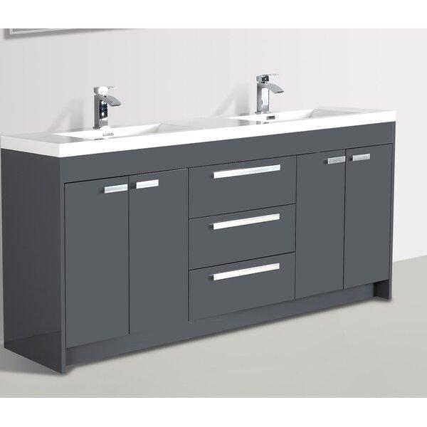 Coova 84 Double Bathroom Vanity Set by Orren Ellis