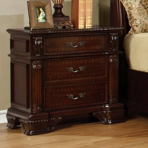 Georgeson 2 Drawer Nightstand by Astoria Grand
