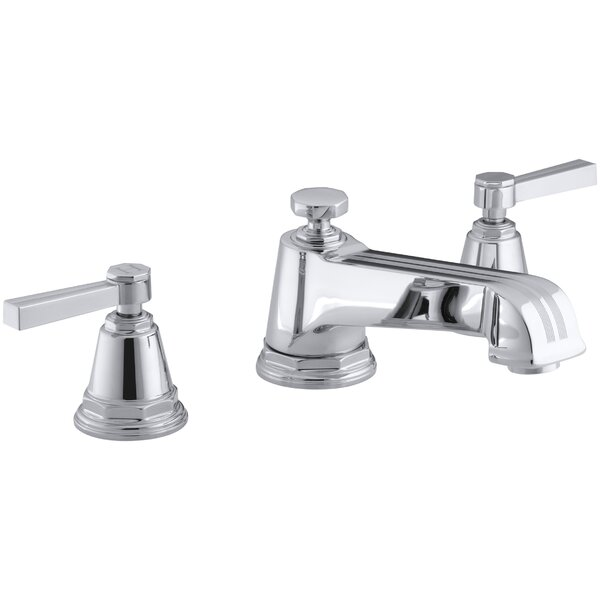 Pinstripe Widespread Bathroom Faucet by Kohler