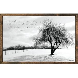 Print Framed Graphic Art by Forest Creations