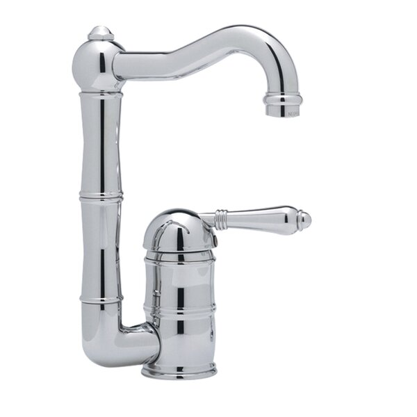 ROHL Acqui Column Spout Bar/Food Prep Faucet with Lever Handle by Rohl Rohl