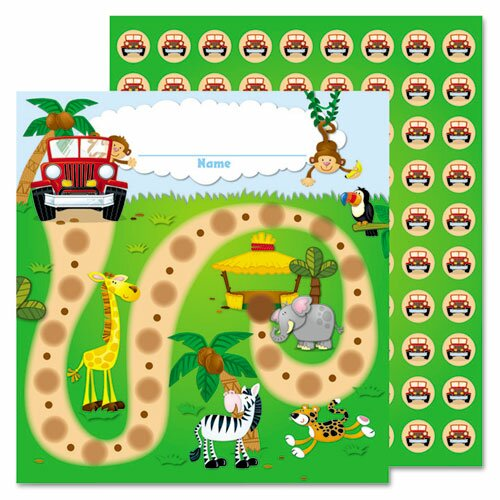 Jungle Safari Mini Incentive Chart by Carson-Dellosa Publishing