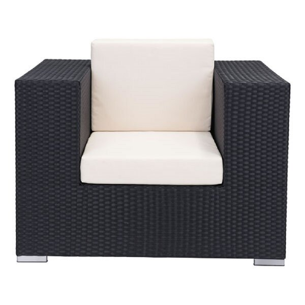 Eguntola Patio Chair With Cushions by Everly Quinn