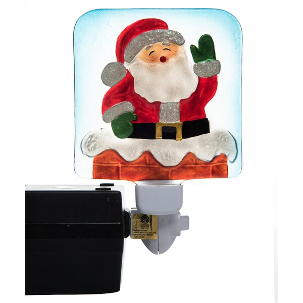 Christmas Santa Night Light by Transpac