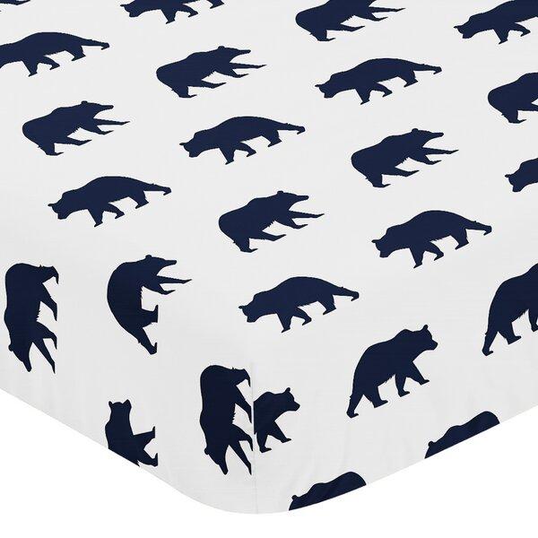 Big Bear Fitted Crib Sheet by Sweet Jojo Designs