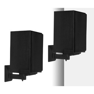 Side Clamping Bookshelf Universal Wall Speaker Mount (Set of 2) Mount-it