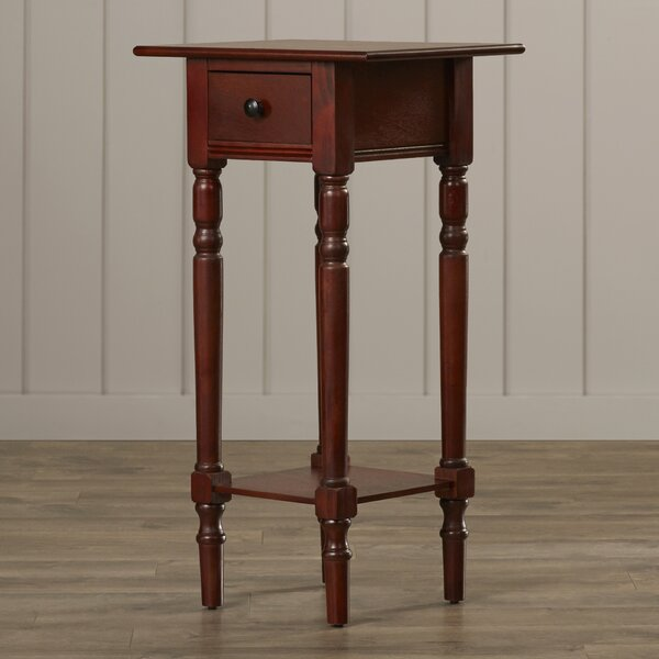 Amityville End Table With Storage by Beachcrest Home