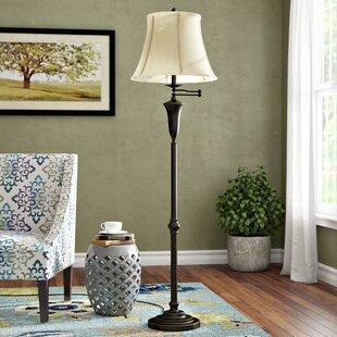 Comparison Millstream 62 Swing Arm Floor Lamp By Alcott Hill