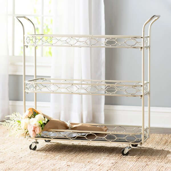 Gaume Bar Cart by Lark Manor Lark Manor