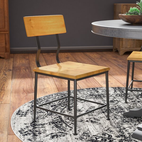 Darcie Industrial Side Chair by 17 Stories