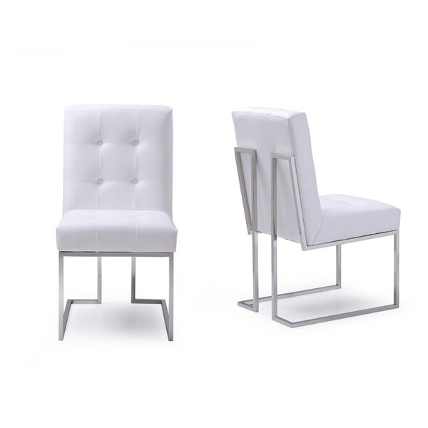 Hundt Upholstered Dining Chair (Set of 2) by Orren Ellis