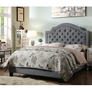 Grey Upholstered Beds You Ll Love Wayfair