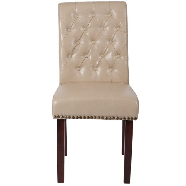 Tufted Upholstered Parsons Chair by Charlton Home Charlton Home®