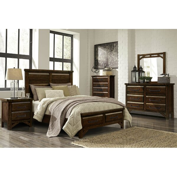 Bricelyn 6 Drawer Double Dresser with Mirror by Union Rustic