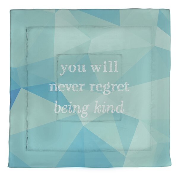 Be Kind Single Reversible Comforter