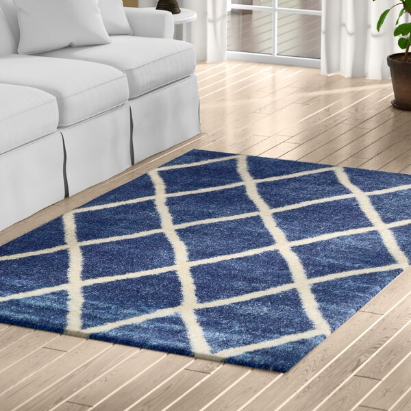 Southampton Navy Blue Area Rug by Charlton Home