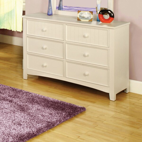 Bedford 6 Drawer Double Dresser by Hokku Designs